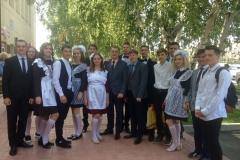 Сафронов Н.В. и Гурентьев С.А. с 11 классом (1 сентября 2018)