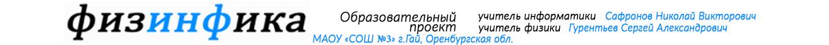 ФИЗИНФИКА Образовательный проект